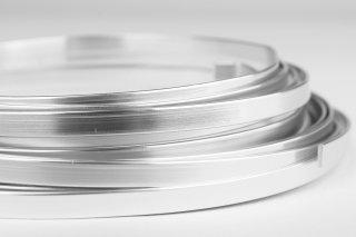 Aluminium Flachdraht 1x5 mm - 5 Meter pro Rolle, 5,49 €