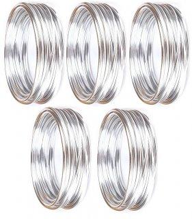 Aluminiumdraht 3 mm x 50 m (5x10m), Silber