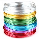 Beading Wire Set Basic: 6 Colors of Artistic Anodized...