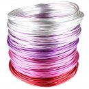 Beading Wire Set Sweet Red: 6 Colors of Artistic Anodized...