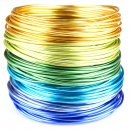Beading Wire Set Cool Summer: 6 Colors of Artistic...