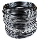 Beading Wire Set Black-Styles - 5 Coils of Artistic...