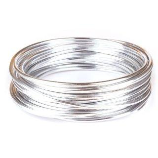 Aluminiumdraht 3mm x 10 m, Silber