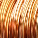 Aluminium Wire 12-Gauge (2mm) - 15 ft (5m) (Light Brown)