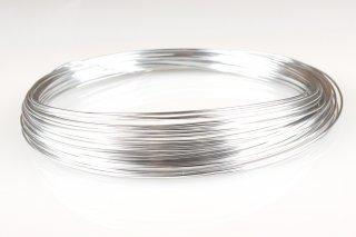 Aluminiumdraht 2 mm x 10 m, Silber