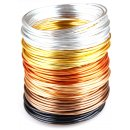 Beading Wire Set Golden Autumn: 6 Colors of Anodized...