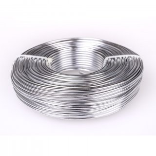 Beading Wire: 30 Ft of 9-Gauge Silver Aluminum Wire