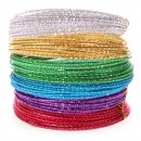 Beading Wire Set Basic: 6 Colors of Anodized Aluminum Wire